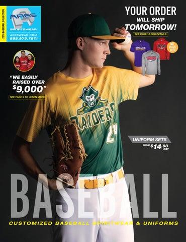 a1ac5604bffb9 2018 Ares Sportswear Baseball Catalog by Ares Sportswear - issuu