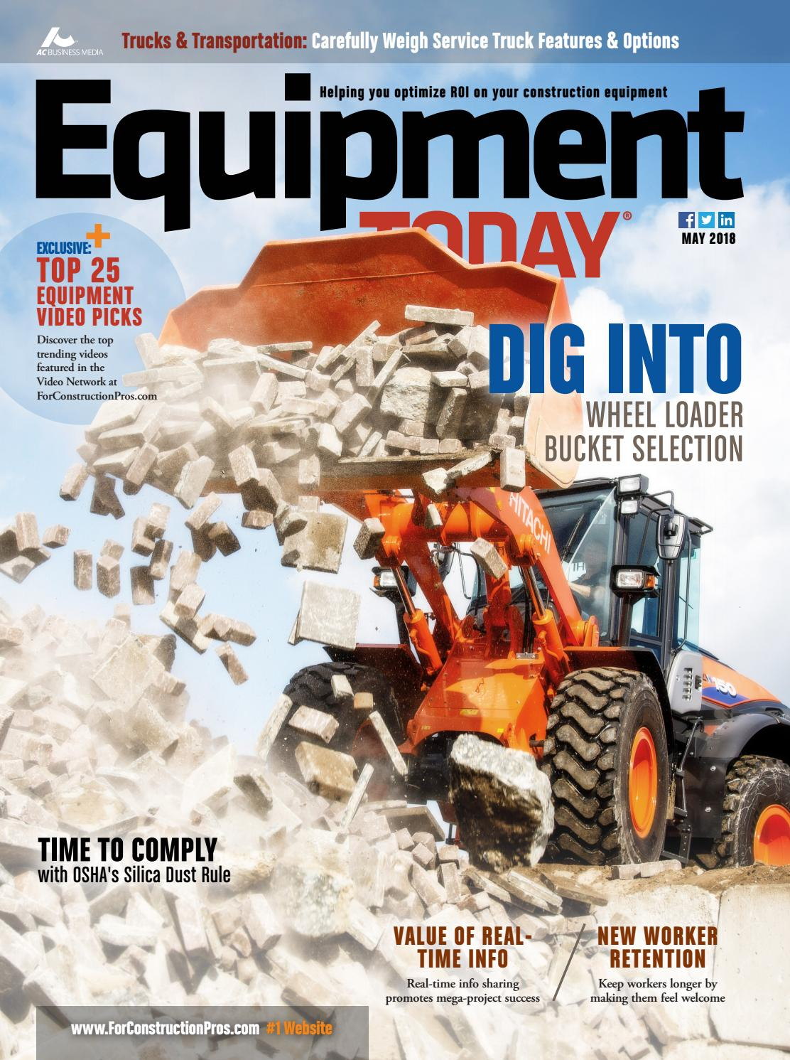 7847cdb52 Equipment Today May 2018 by ForConstructionPros.com - issuu