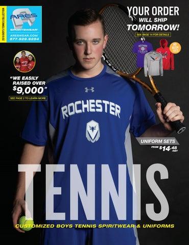 ff4cadb92 2018 Ares Sportswear Boys Tennis Catalog by Ares Sportswear - issuu