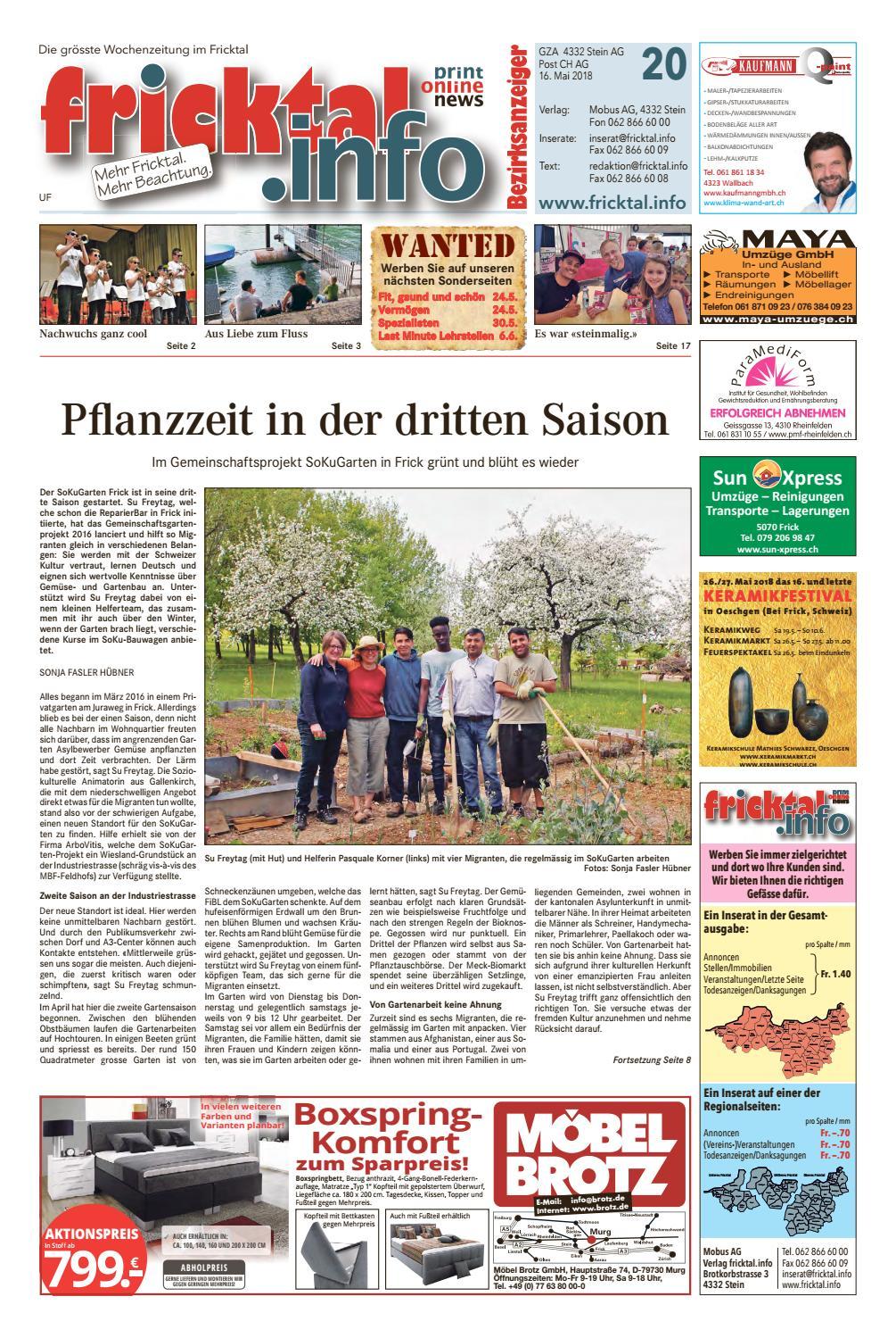 Aargau Solothurn - Bad Sckingen/Stein: Kinder-Universitt