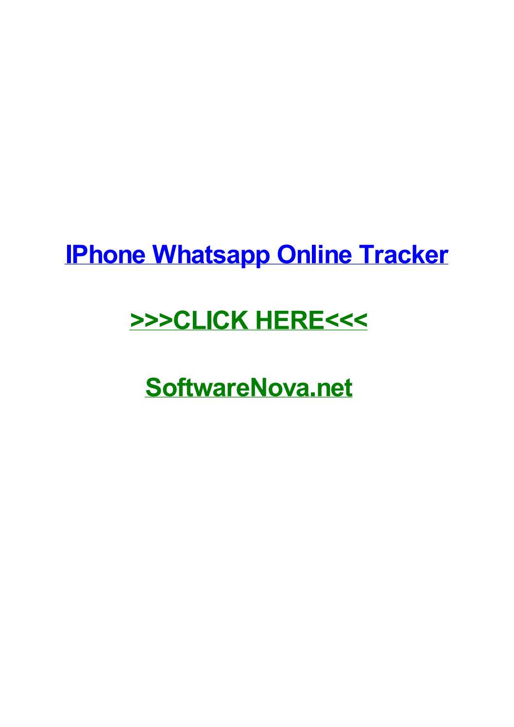 whatsapp online status ausschalten iphone