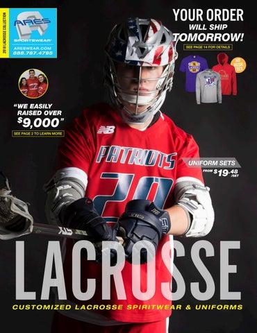 30dd0b10 2018 Ares Sportswear Boys Lacrosse Catalog by Ares Sportswear - issuu