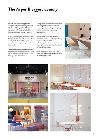 Page 11 of The Arper Bloggers Lounge