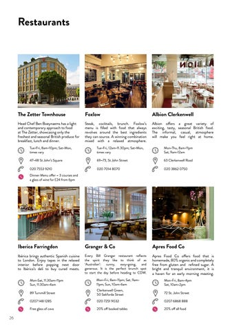 Page 26 of Restaurants