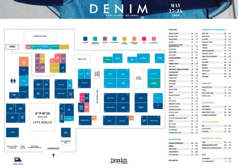 Page 1 of Denim PV: Discover the Show Map!