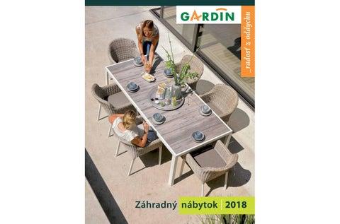 97c127409d3f3 Gardin- záhradný nábytok 2018 by Gardin - issuu