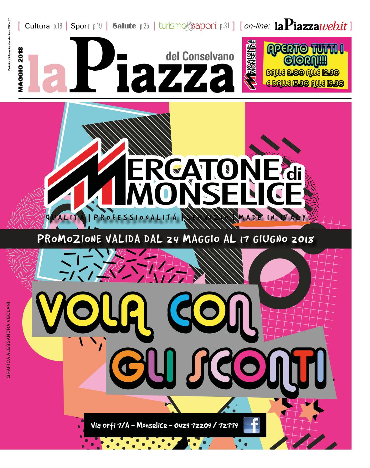 Conselvano Mag2018 N67 By Lapiazza Give Emotions Issuu