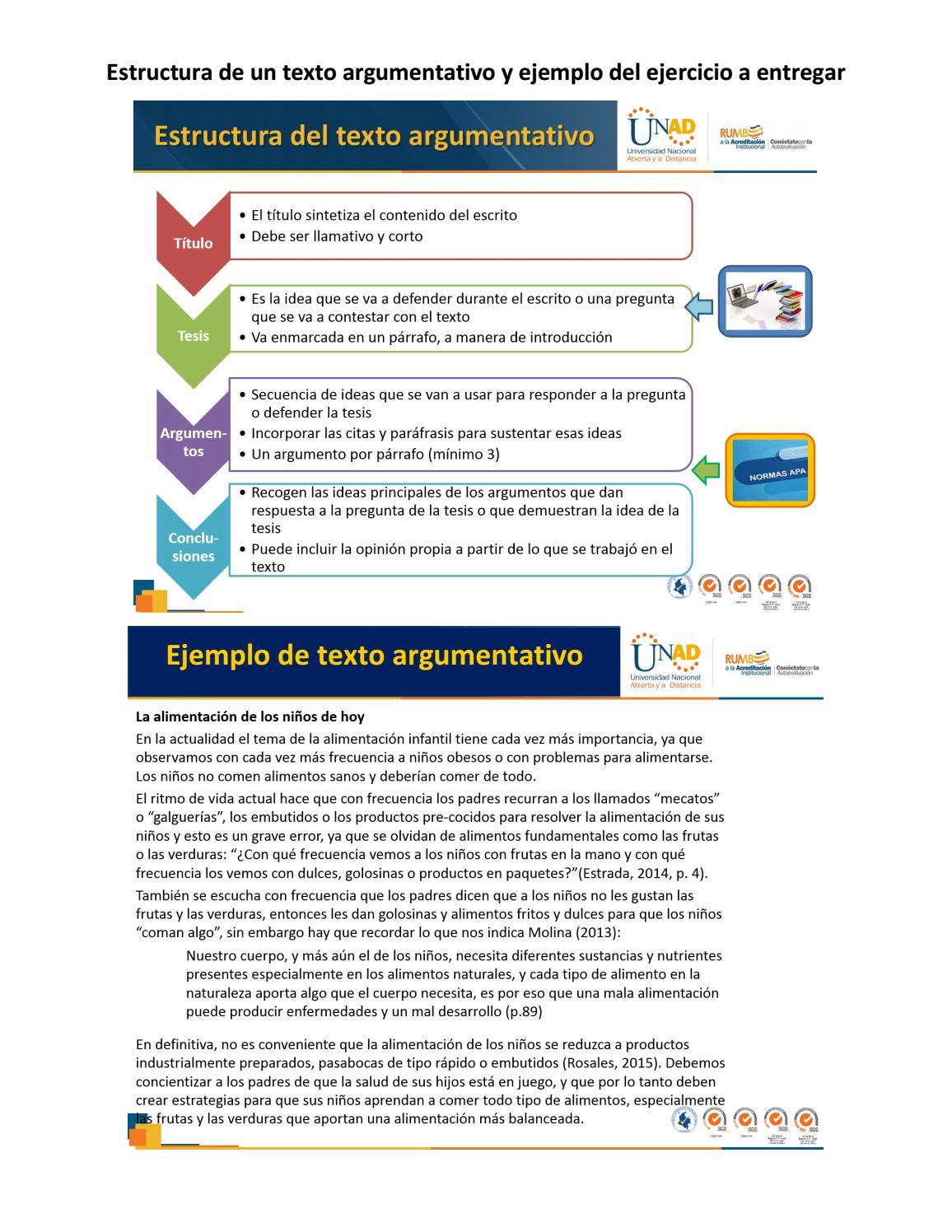 Ejemplo Formato Planeación Y Borrador Del Texto Argumentativo By Tigi Issuu