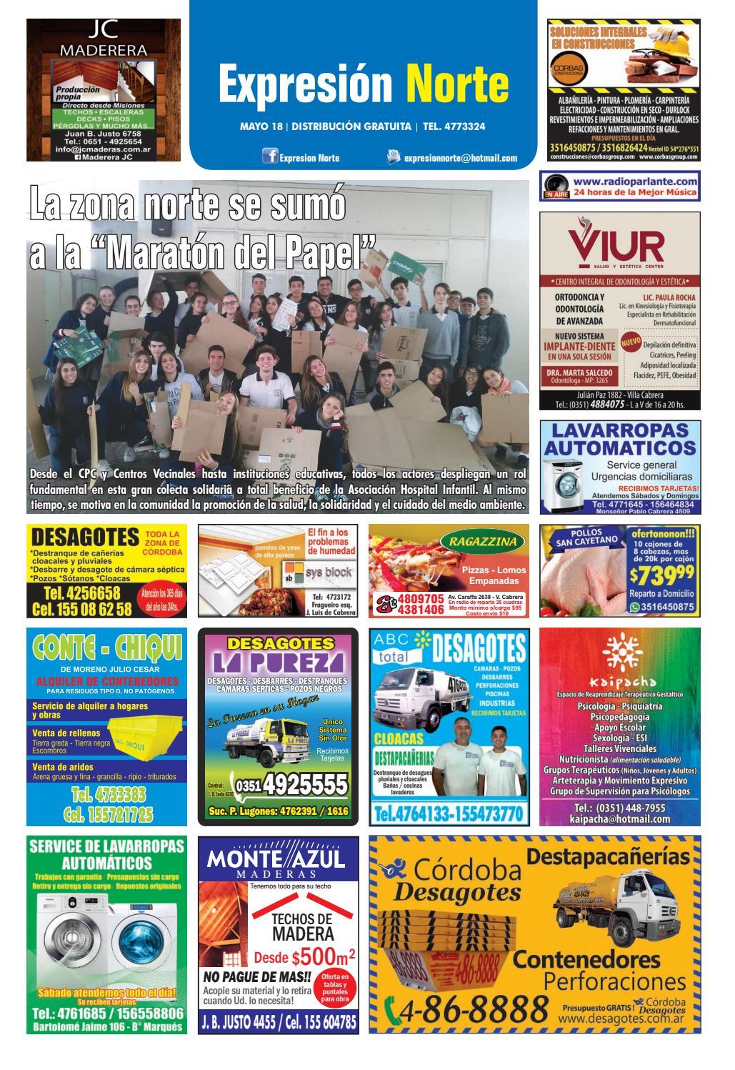 EXPRESION NORTE (Córdoba) - Edición MAYO 2018 by Fiestas & Sucesos ...
