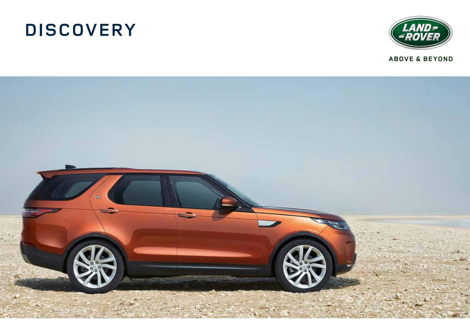 2018 Land Rover Discovery Brochure by Stewarts Automotive