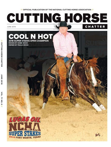 cutting horse chatter june 2018 by cowboy publishing group issuu63 Johnson Sea Horse Need Help Iding Wiring See Pics Page 1 #12