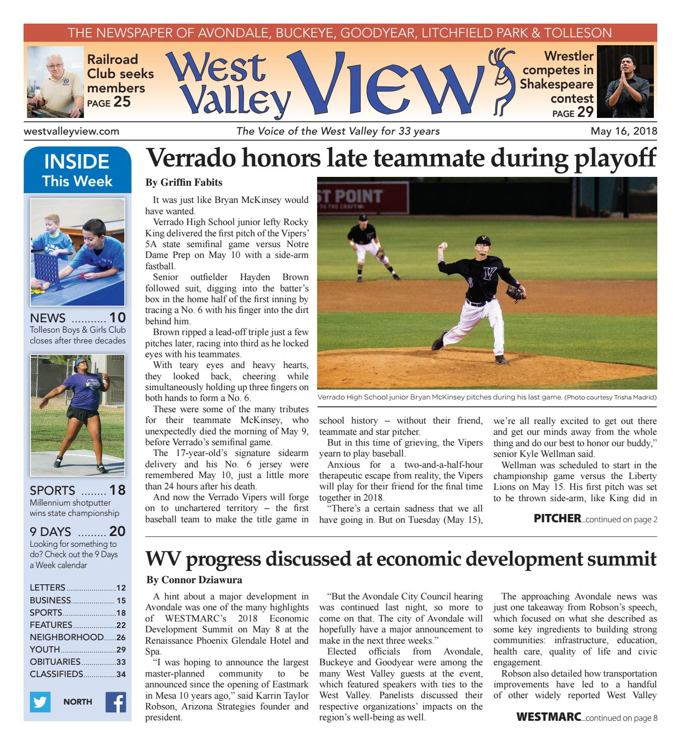 West Valley View North May 16 2018 by Times Media Group issuu