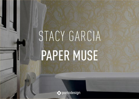Page 1. STACY GARCIA PAPER MUSE