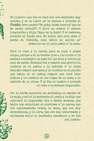 Page 17 of La perra, la mona y la lora