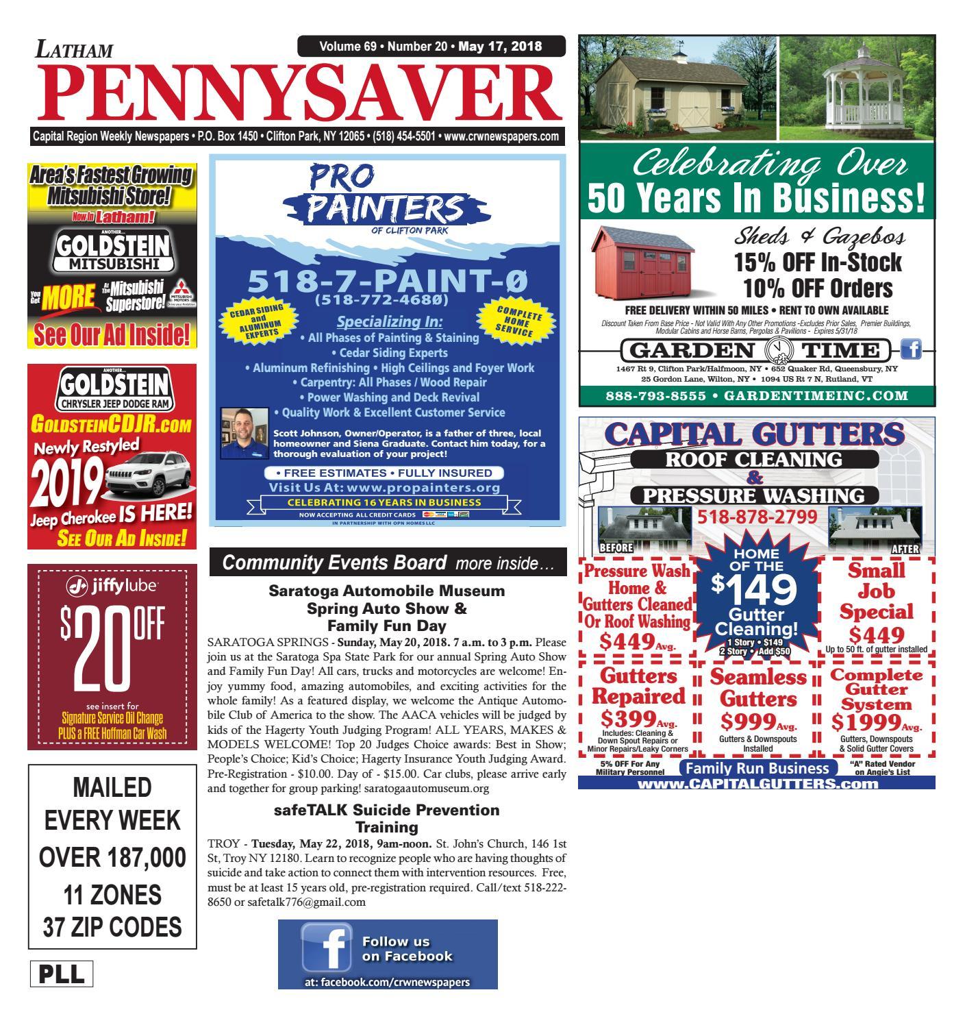 66ad297b8cafe2 Latham Pennysaver 051718 by Capital Region Weekly Newspapers - issuu