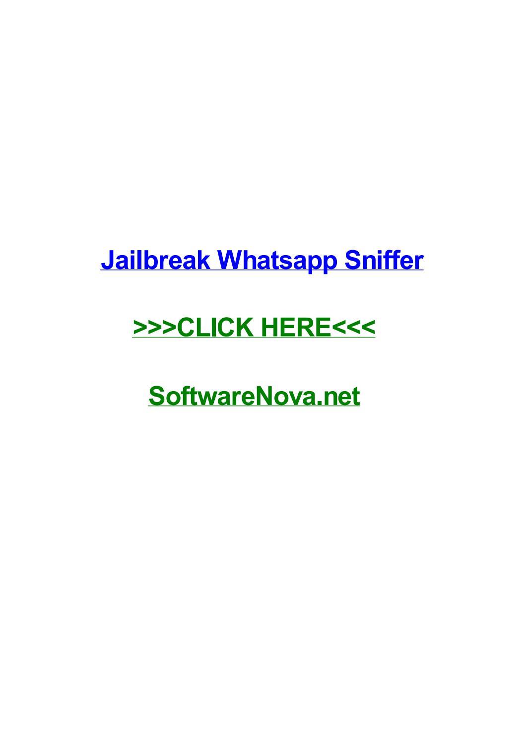 descargar whatsapp sniffer gratis para iphone 8 Plus