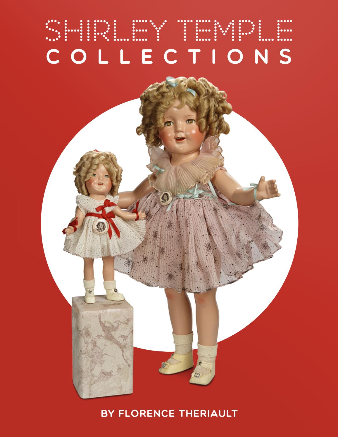 """Vintage Antique 1930s Composition  Doll Pattern ~ 25/"""" 26/"""" Shirley Temple"""