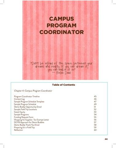 Page 47 of Program Coordinator