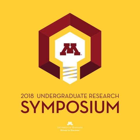 f94022a4e2e 2018 Undergraduate Research Symposium Booklet by Office of ...