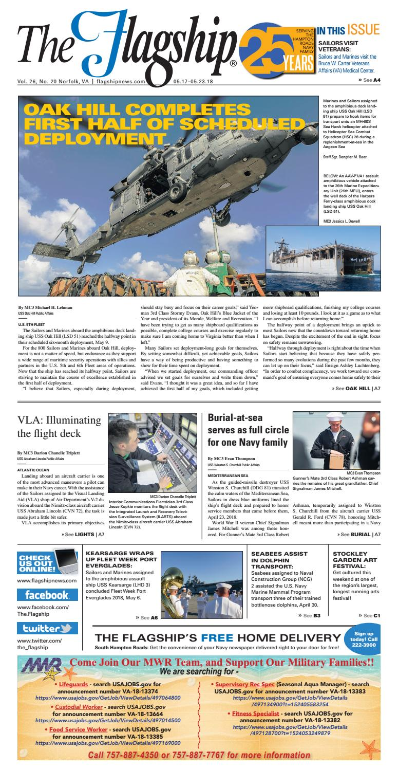 The Flagship Edition 05 17 18 by Military News - issuu