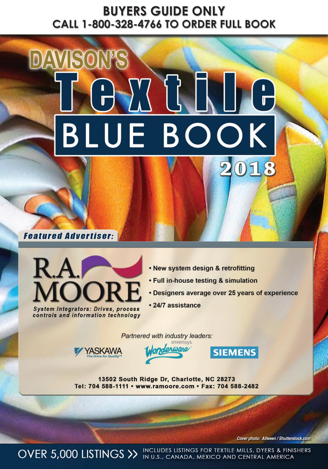 Textile Blue Book by Davison Publishing - issuu