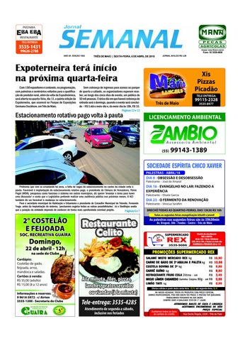 Semanal 6 de abril de 2018 - Ed. 1502 by JORNAL Semanal - issuu 8ede3b4cb2