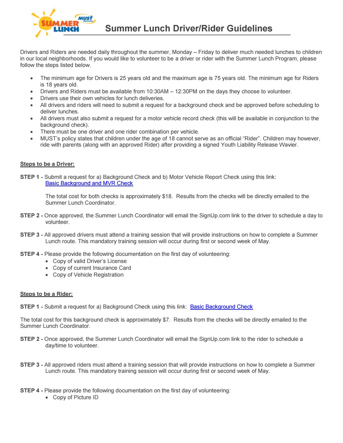 Driver rider guidelines 2018 by newlifecanton - issuu