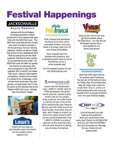 Page 11 of 2018 Jacksonville Jazz Festival Happenings