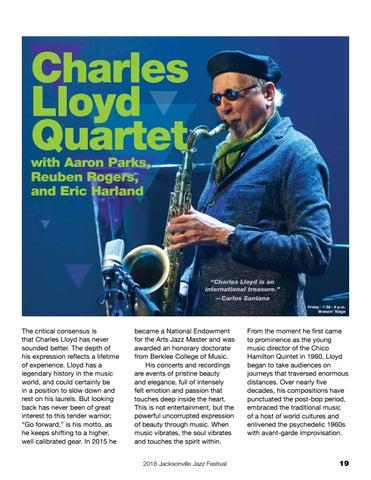 Page 19 of Charles Llyod Quartet