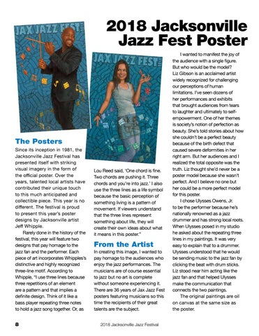 Page 8 of 2018 Jacksonville Jazz Fest Poster