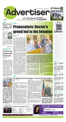 26f52dcfebc Tca 5 16 18 all pages by Tuscola County Advertiser - issuu