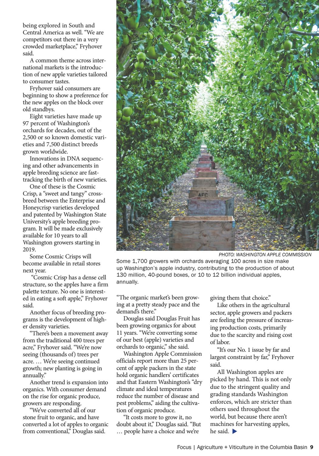 Focus: Agriculture + Viticulture 2018 by Tri-Cities Area