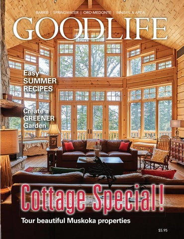 0afb3129c6a38 Goodlife Barrie May-June 2018 by GoodLife Magazine - Simcoe County ...