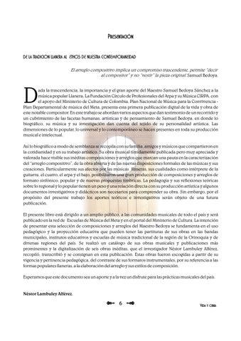 Page 6 of Vida y obra