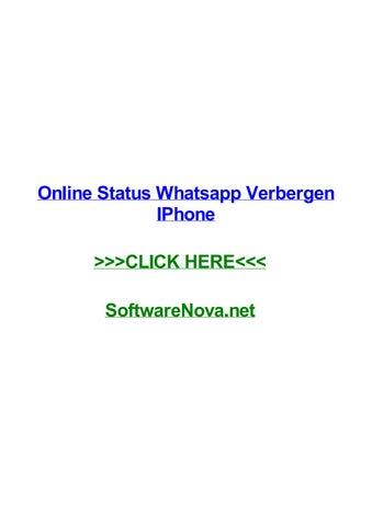 Online Status Whatsapp Verbergen Iphone By Kylebubc Issuu