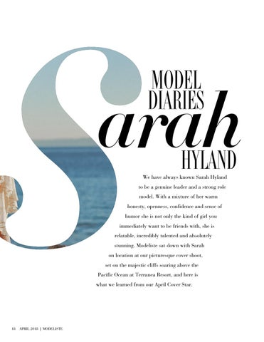 Page 18 of Model Diaries: Sarah Hyland