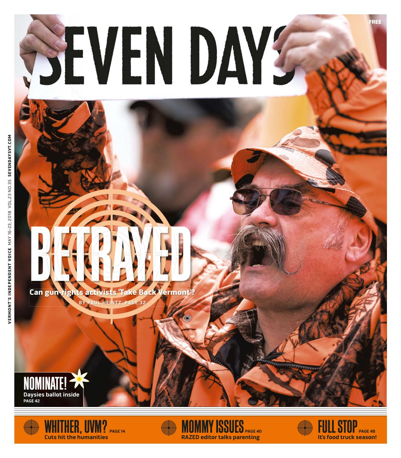 huge discount f978c 65afb Seven Days, May 16, 2018 by Seven Days - issuu