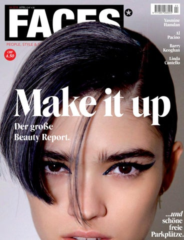 FACES Magazin Schweiz, Aprilausgabe 2018 by Fairlane