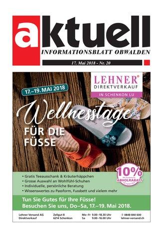 7e7b612f75a85a Aktuell Obwalden 20-2018 by Aktuell Obwalden AG - issuu