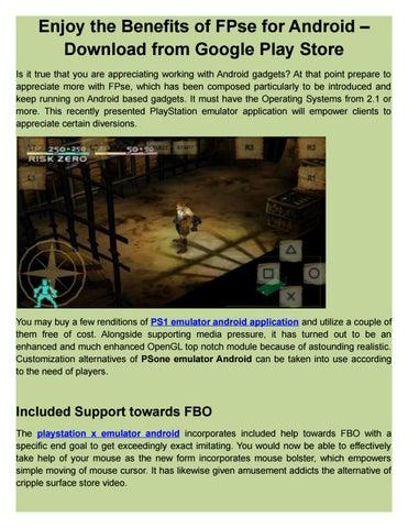 fpse psx emulator android free download
