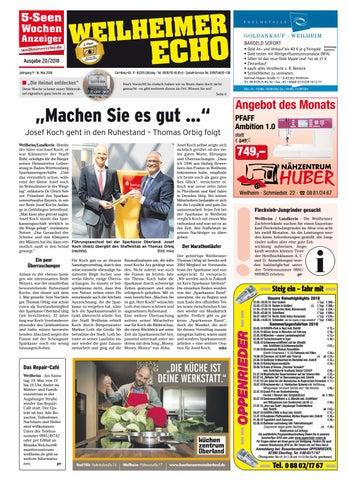 KW 20-2018 by Wochenanzeiger Medien GmbH - issuu