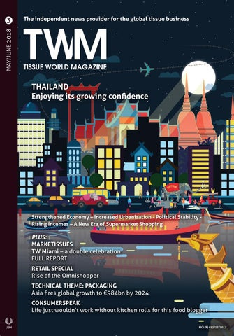 Tissue World Magazine May/June 2018 by Tissue World Magazine - issuu