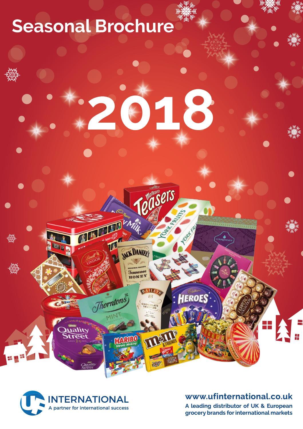 Uf International Seasonal Brochure 2018 By Uf International