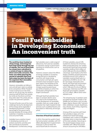 Page 28 of Fossil Fuel Subsidies: An Inconvenient Truth