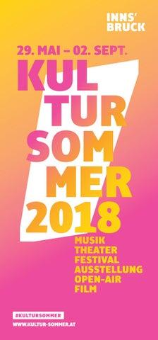 Falter Kultursommer 2018 By Falter Verlagsgesellschaft Mbh Issuu