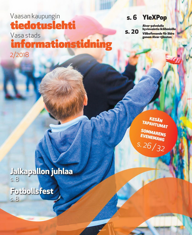 Vaasan Kaupungin Tiedotuslehti 02 2018 By Vaasan Kaupunki
