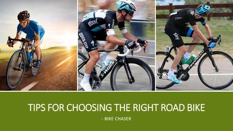 Page 1 of Tips For Choosing The Right Road Bike