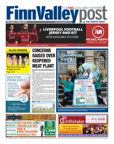 Finn valley post 17 05 2018 by River Media Newspapers - issuu