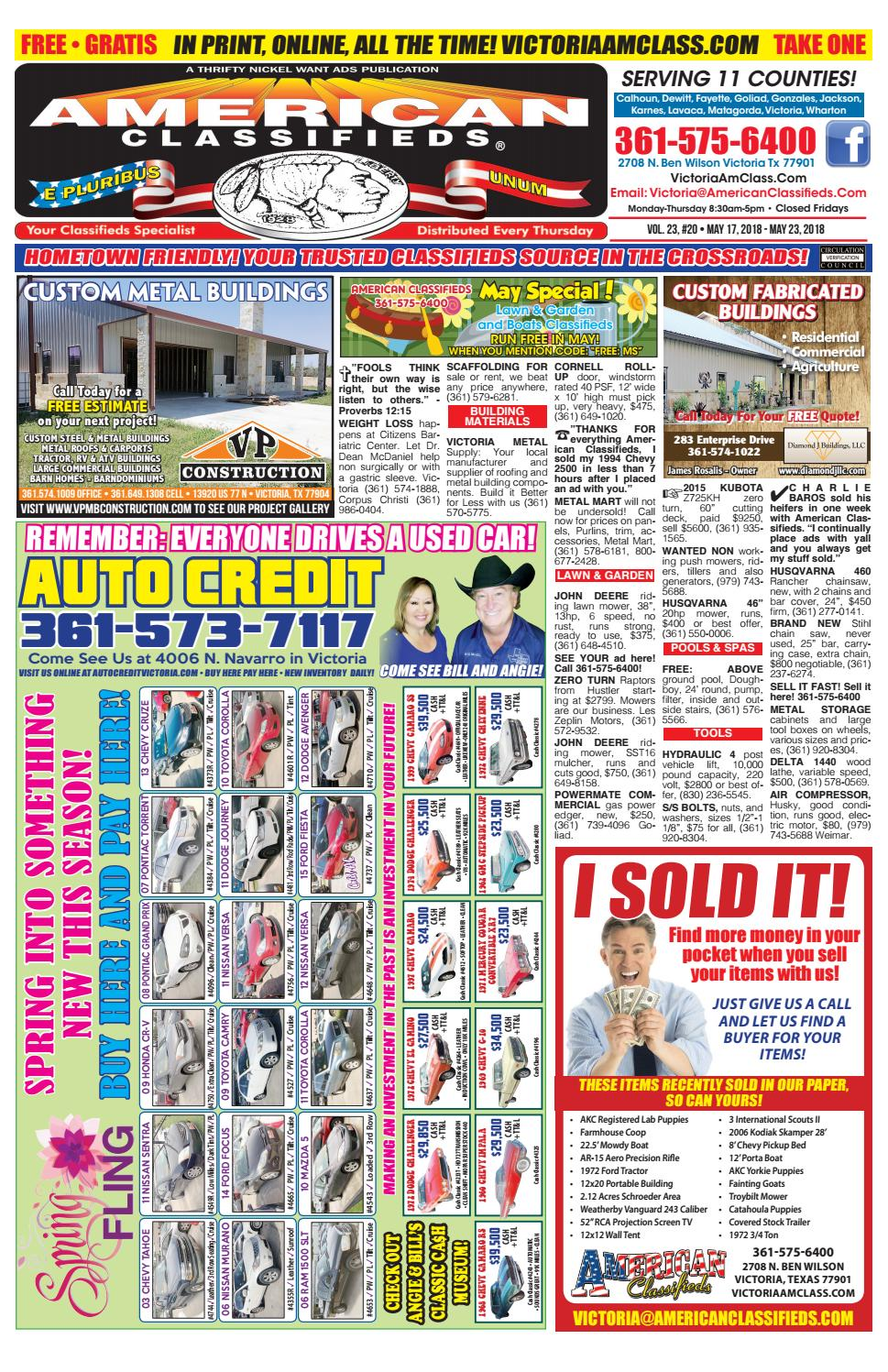 American Classifieds Victoria May 17 by American Classifieds