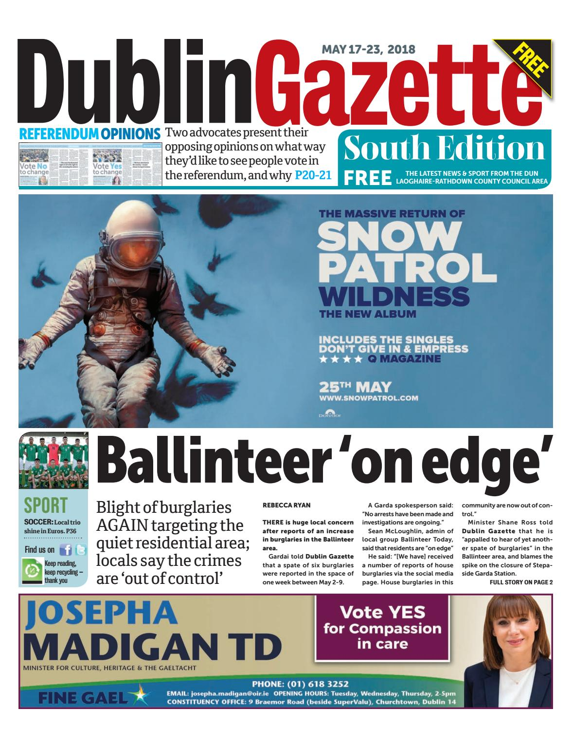Dublin Gazette: South Edition by Dublin Gazette - issuu